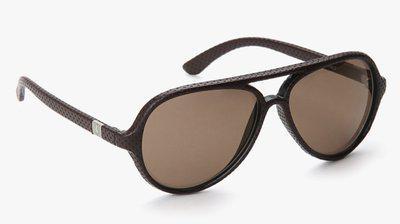 Ferrari Oval Sunglasses(Brown)