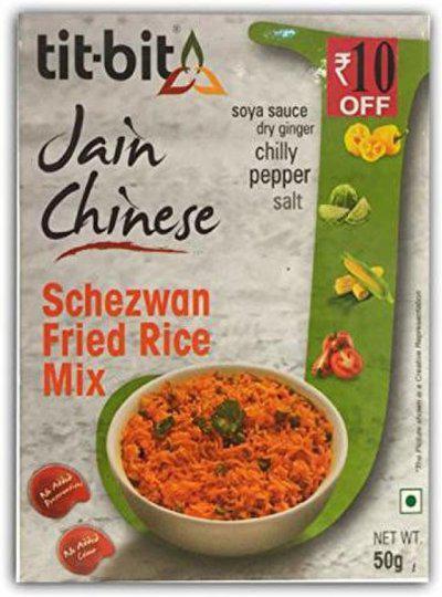 Tit-Bit Jain Chinese Schezwan Fried Rice(5 x 50 g)