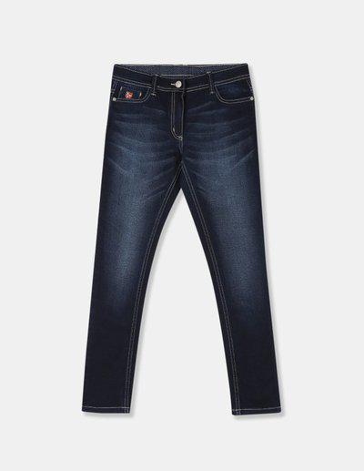 US Polo Association Skinny Baby Girls Blue Jeans