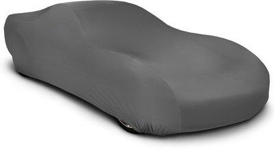 Callmate Car Cover For Tata Indica Vista (Without Mirror Pockets)(Grey)