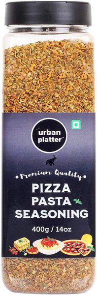Urban Platter Pizza & Pasta Seasoning Shaker Jar, 400g [Full of Aromatic Herbs](400 g)