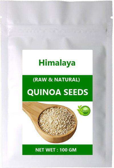Himalaya QUINOA SEEDS / Best Nutrition Food / Rich in Protein & Fiber   Help Weight Loss (100 GM )(100 g)