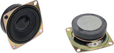 Electronicspices Mini Magnet Speaker 4ohm 3W - PACK OF 2 2 inch Coaxial Car Speaker(3 W)