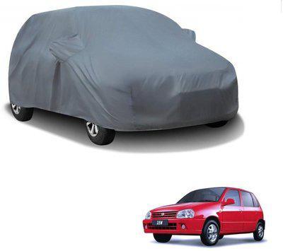 Auto Addict Car Cover For Maruti Suzuki Zen (With Mirror Pockets)(Grey)