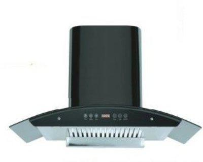 Sunglan blackpearl preuiem 60 cm kitchen chimney Auto Clean Wall Mounted Chimney(Black 1200 CMH)