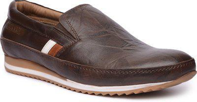 Buckaroo Loafers For Men(Brown)