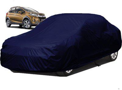 dzirejunction Car Cover For Honda WR-V (Without Mirror Pockets)(Blue)