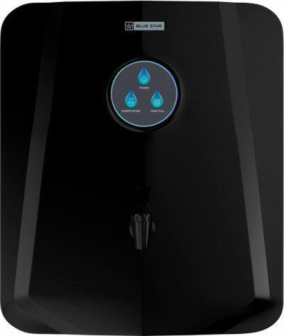 Blue Star GE4BLAM02 6 L RO + UV Water Purifier(Black)
