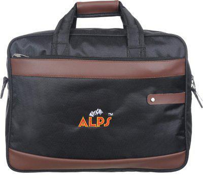 Alps Men & Women Black, Brown Messenger Bag