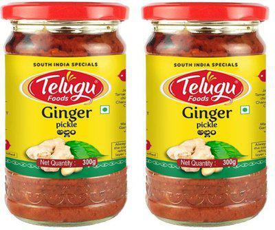 Telugu Foods Ginger Pickle Ginger Pickle(500 g)