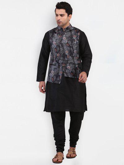 TAG-7 Printed Men Waistcoat
