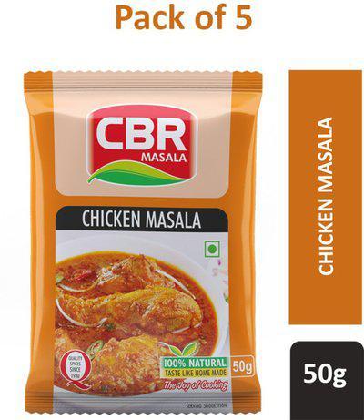 CBR 50g Chicken Masala Powder (Pack of 5)(5 x 50 g)