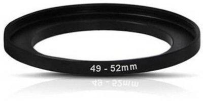 SHOPEE 49mm To 52mm 49-52MM Lens Step Up Filter Ring Stepping Adapter Metal Step Up Ring(49 - 52 mm)