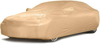 Port Chester Car Cover For Tata Zest (With Mirror Pockets)(Beige)