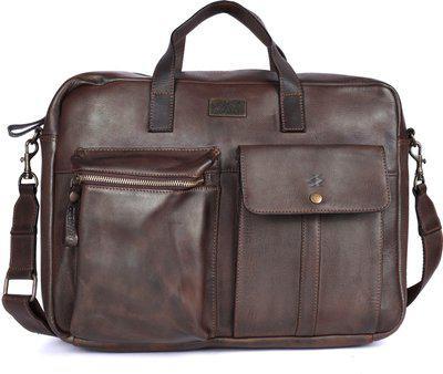 Kompanero Men & Women Brown Messenger Bag