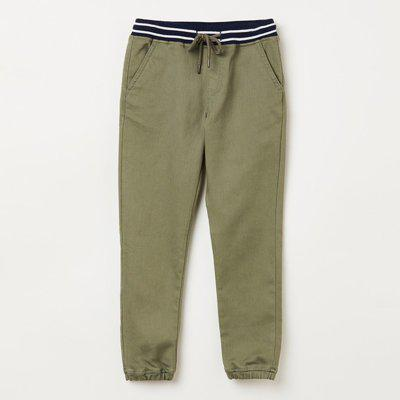 BOSSINI Regular Fit Boys Green Trousers