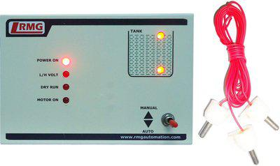 Rmg Fully Automatic Water Level Controller for Motor Pump Operated by Starter above 1.5 HP - Tank only Wired Sensor Security System