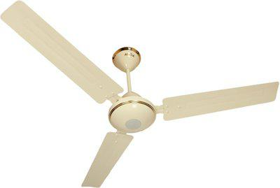 Maya Super Eco Tech Decorative 1200 mm BLDC Motor with Remote 3 Blade Ceiling Fan(Glossy Ivory, Pack of 1)