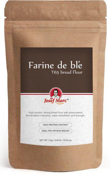Josef Marc Farine de ble T65 Strong Bread Flour(1 kg)