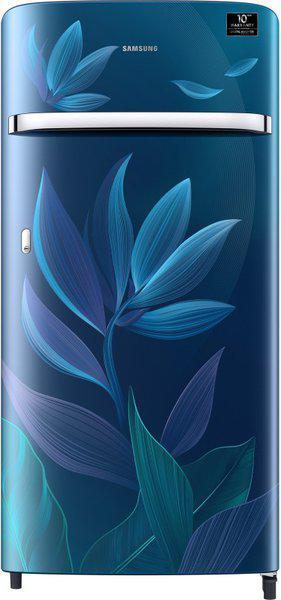 Samsung 198 L Direct Cool Single Door 5 Star (2020) Refrigerator(Paradise Blue, RR21T2G2W9U/HL)