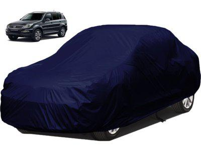 dzirejunction Car Cover For Mahindra Universal For Car (Without Mirror Pockets)(Blue)