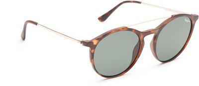 Pepe Jeans Oval Sunglasses(Green)