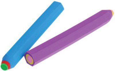 Goyal Long Pencil Eraser Non-Toxic Eraser(Multicolor)