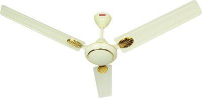 Sameer Gati 1200 mm 3 Blade Ceiling Fan(White, Pack of 1)