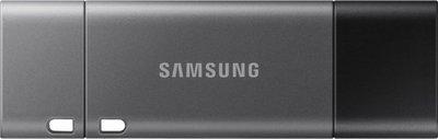 SAMSUNG DUO Plus 256GB Type-C 400MB s USB 3.1 Flash Drive (MUF-256DB) 256 GB Pen Drive(Grey)