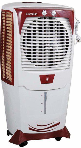 Crompton 55 L Desert Air Cooler(White, Maroon, Greaves Ozone 55 Ltrs Desert Air Cooler (White/Maroon))