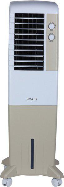 Kenstar 35 L Tower Air Cooler(Golden yellow & white, Alta 35)