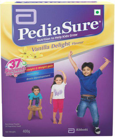 PediaSure Vanilla Delight Nutrition Drink(400 g, Vanila Delight Flavored)