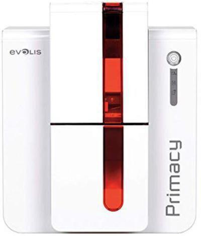 Evolis Primacy Multi-function Printer(White and red)