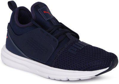 Puma Boys Lace Sneakers(Dark Blue)