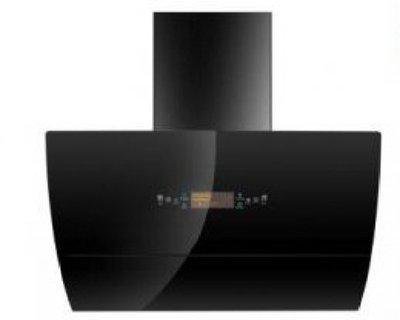 Sunglan 90 CM KITCHEN CHIMNEY Auto Clean Wall Mounted Chimney(black 1200 CMH)