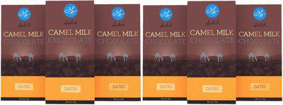 Aadvik Camel Milk Chocolates with Dates | 300g | Pack of 6 x 50g Bars Bars(6 x 50 g)
