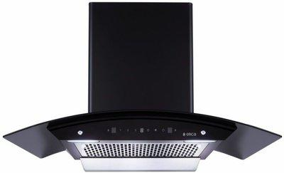 Elica 90 cm 1200 m3 hr Filterless Auto Clean Chimney WDFL 906 HAC MS NERO Touch Motion Sensor Control Black