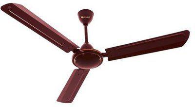 Venus Matrix 1200 mm 3 Blade Ceiling Fan(Brown, Pack of 1)