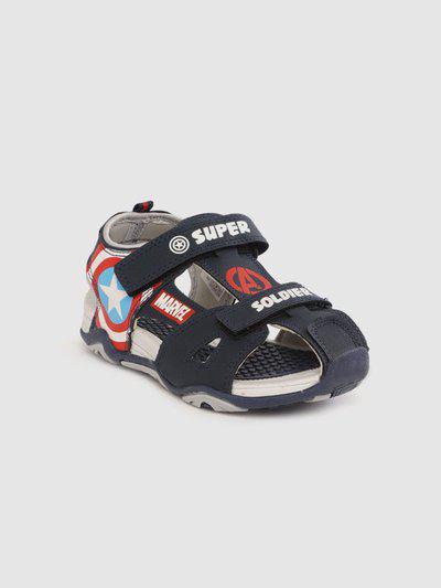 Marvel Boys Velcro Sports Sandals(Blue)