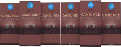 Aadvik Camel Milk Chocolates | Plain | 300g | Pack of 6 x 50g Bars Bars(6 x 50 g)