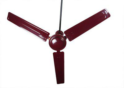 Khaitan ECR 1200 mm Ultra High Speed 3 Blade Ceiling Fan(Brown, Pack of 1)