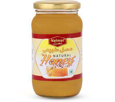 Naimat Raw Honey in Glass Jar to Prevent Boost Immunity (500 g)(500 g)