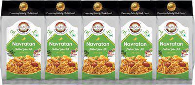 Bikaner Fresh Pack of 5 Navratan Hand Cooked Namkeen,(5 x 0.2 kg)