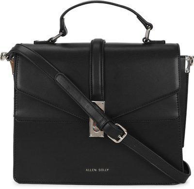Allen Solly Women Black Messenger Bag