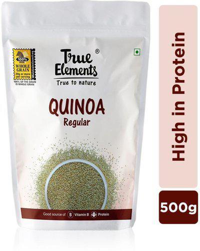 True Elements Gluten Free, High in Protein, Regular Quinoa(500 g)