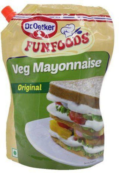 FUNFOODS VEG MAYONNAISE ORIGINAL 875G 875 g