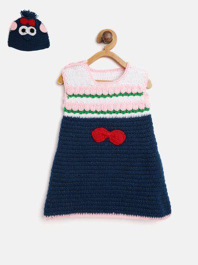 CHUTPUT Girls Casual Dress Cap(Blue)