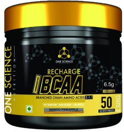 One Science Nutrition Recharge BCCA BCAA(325 g, Mango Pineapple)