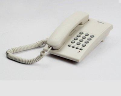 Beetel B17 Corded Landline Phone(Warm Grey)