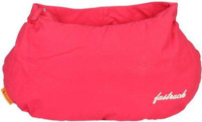 Fastrack Women Solid Canvas - Tote Bag Pink